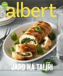 Albert v kuchyni, duben 2014 JARO NA TALÍŘI