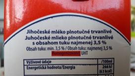 Trvanlivé homogenizované mléko