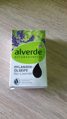 Alverde přírodní tuhé mýdlo