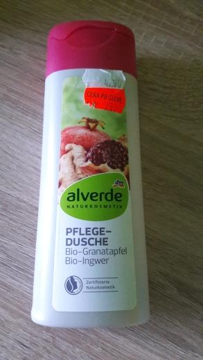 Alverde přírodní tekuté mýdlo - granátové jablko, zázvor /43 Kč)