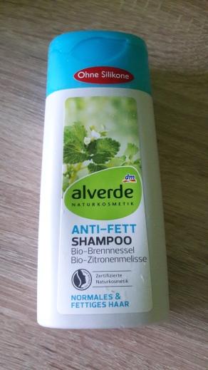 Alverde šampón na jemné vlasy (60 Kč)